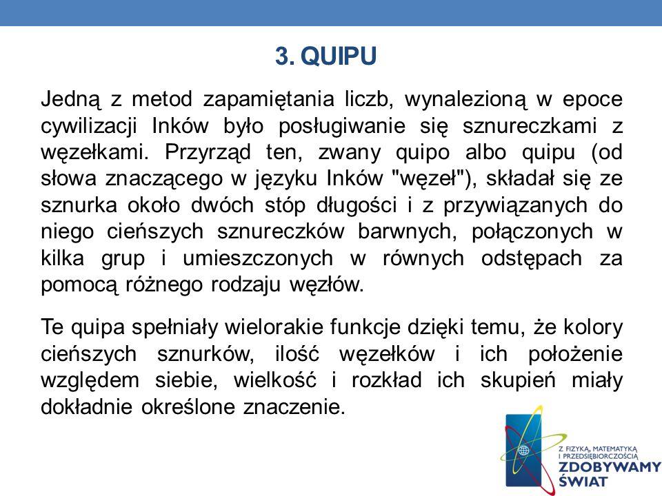 3. QUIPU
