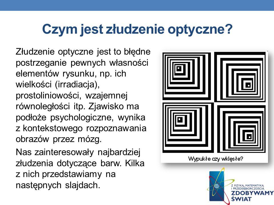Czym jest złudzenie optyczne