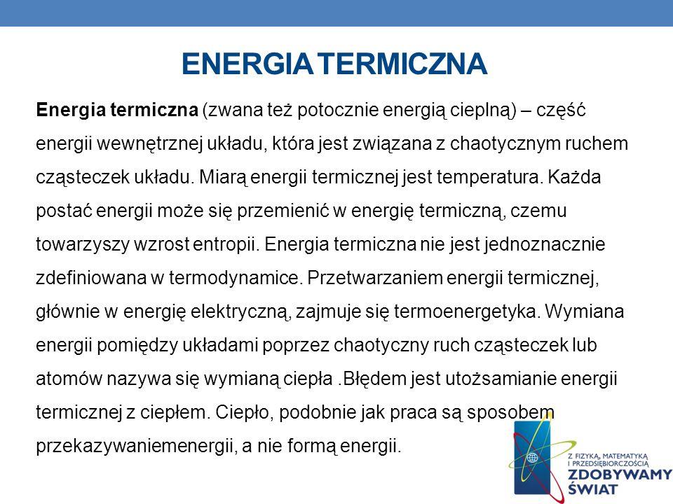 Energia termiczna