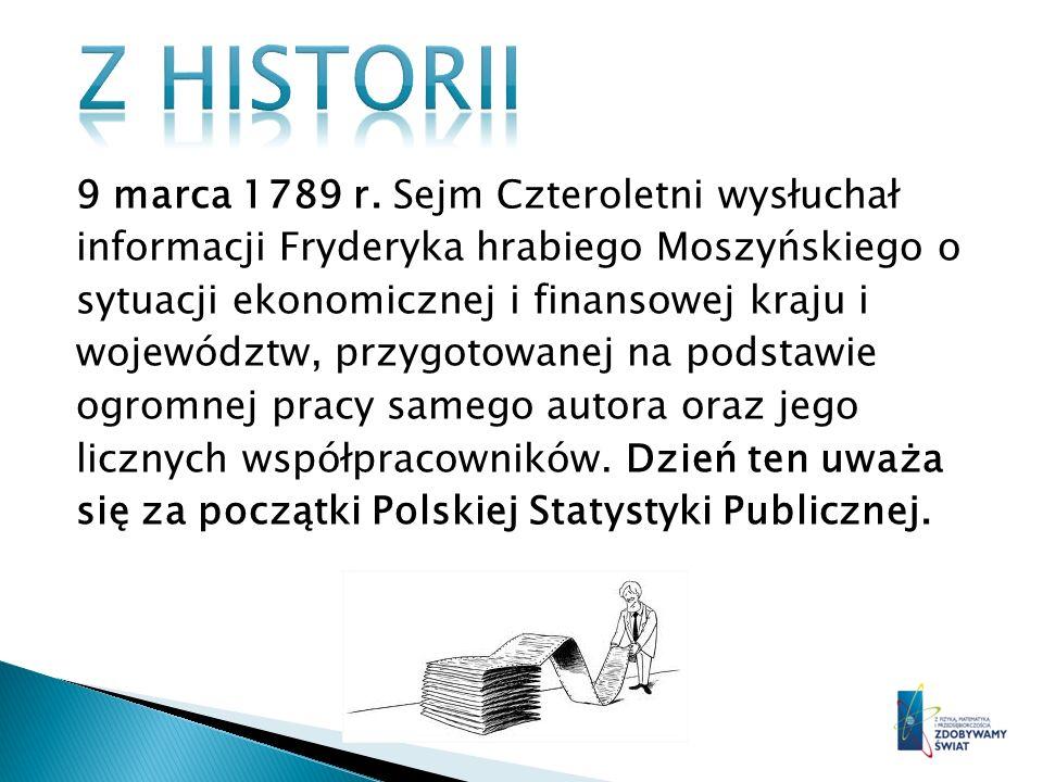 Z historii 9 marca 1789 r. Sejm Czteroletni wysłuchał