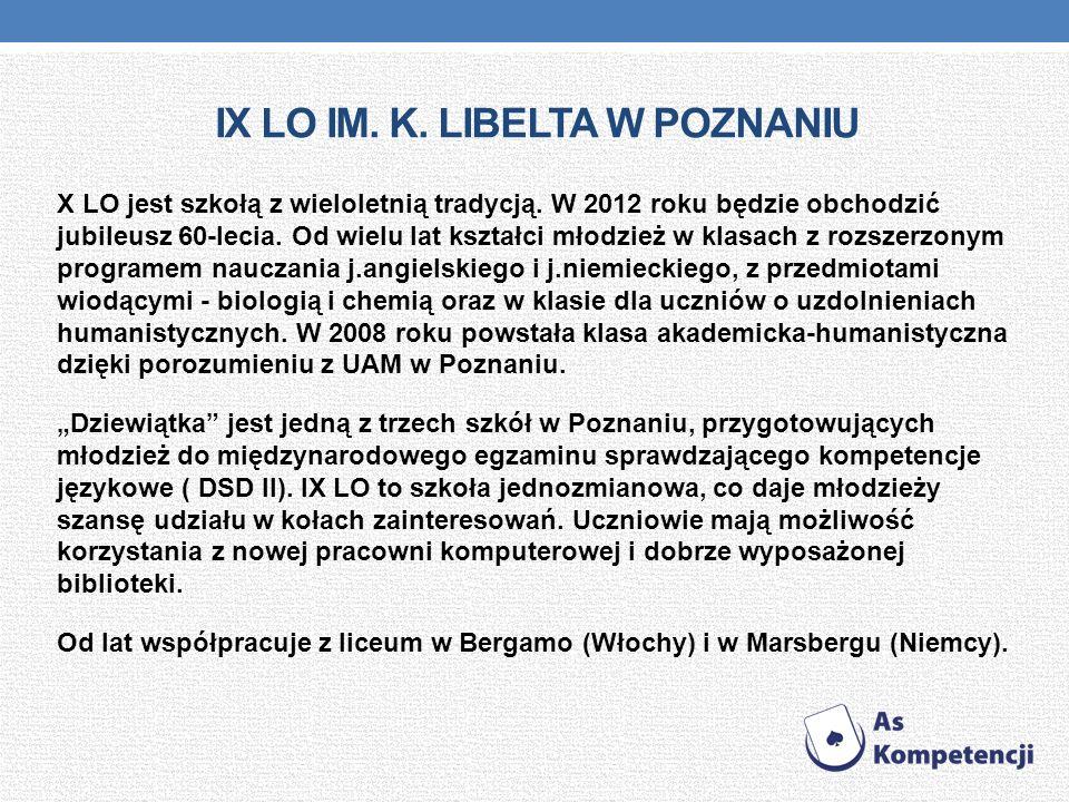 IX Lo im. K. Libelta w Poznaniu