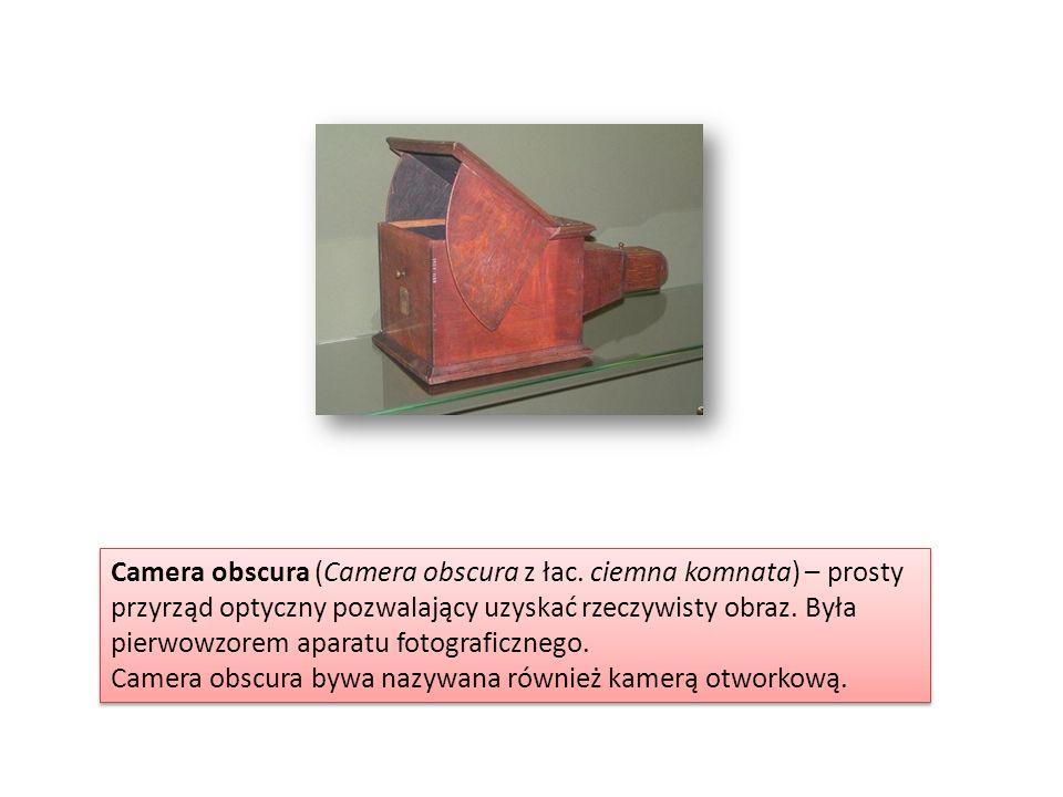 Camera obscura (Camera obscura z łac