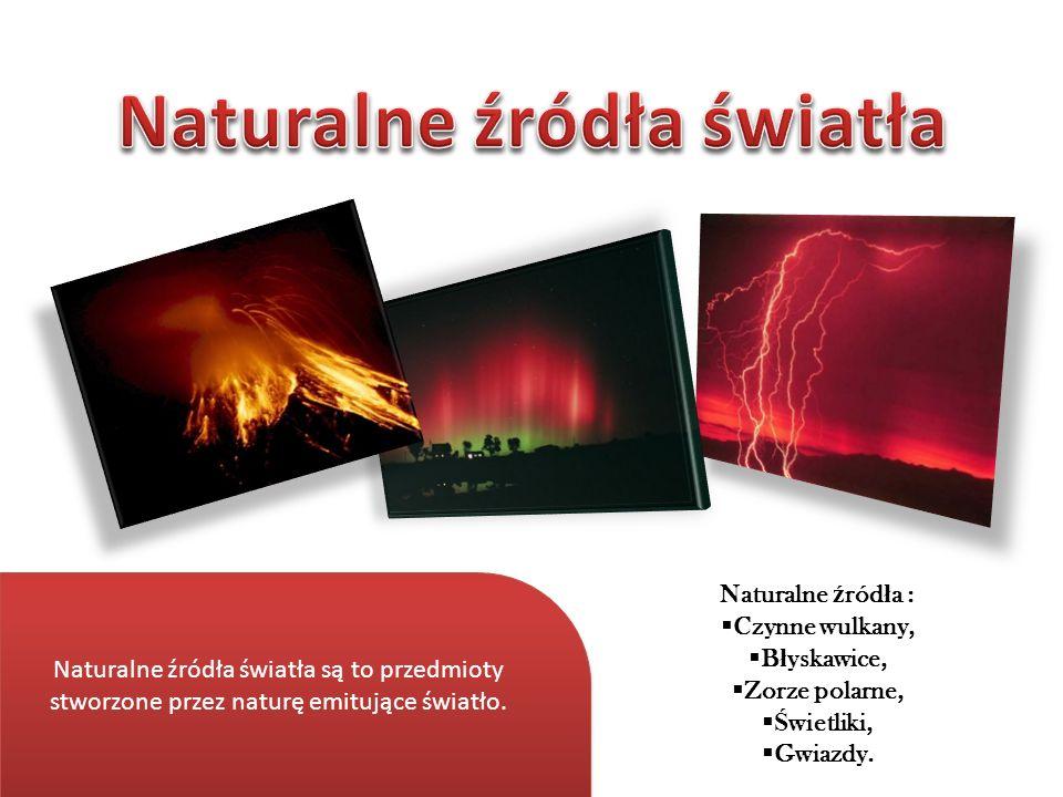 Naturalne źródła światła