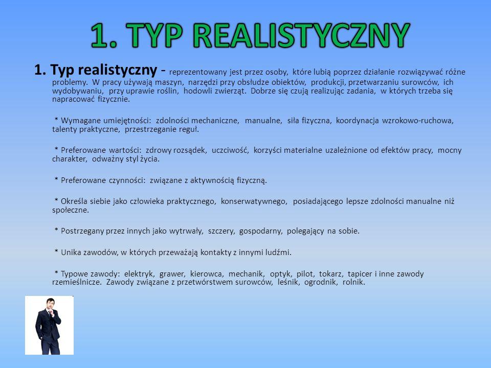 1. TYP REALISTYCZNY