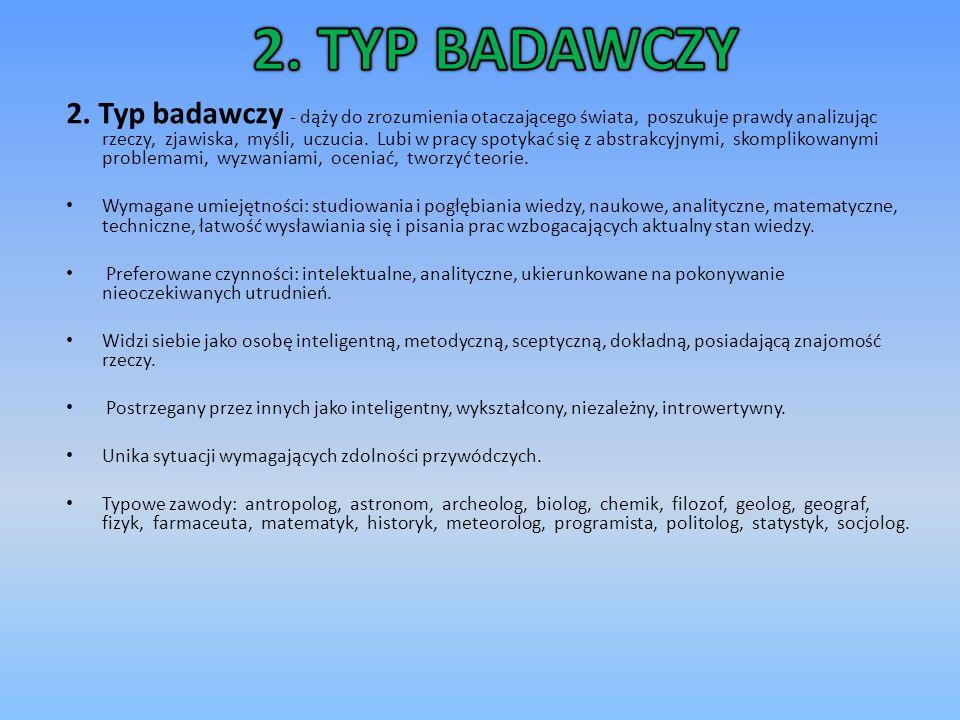 2. TYP BADAWCZY
