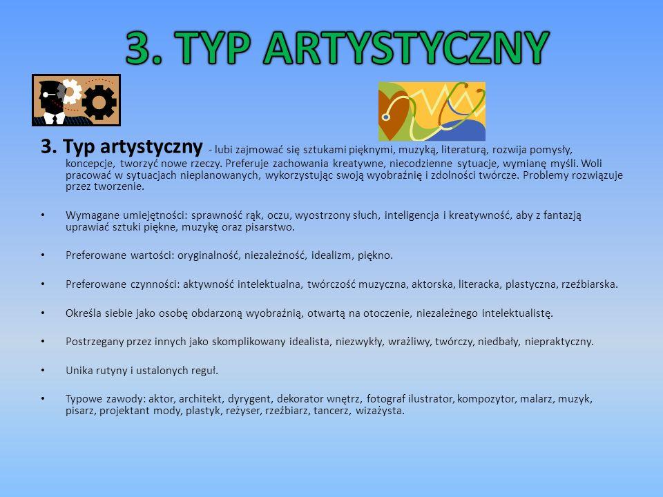 3. TYP ARTYSTYCZNY