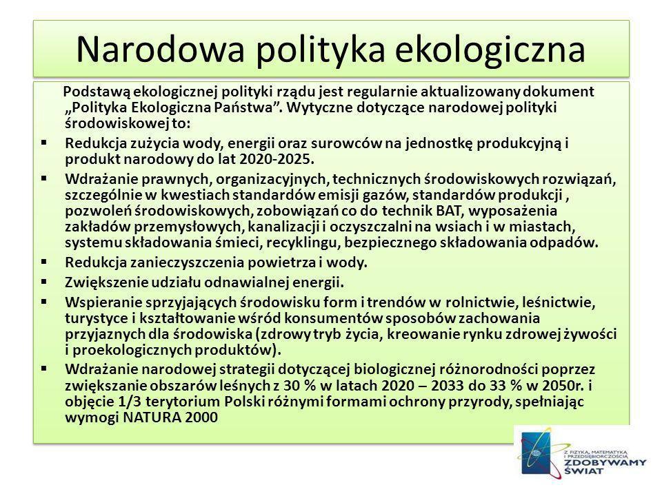 Narodowa polityka ekologiczna
