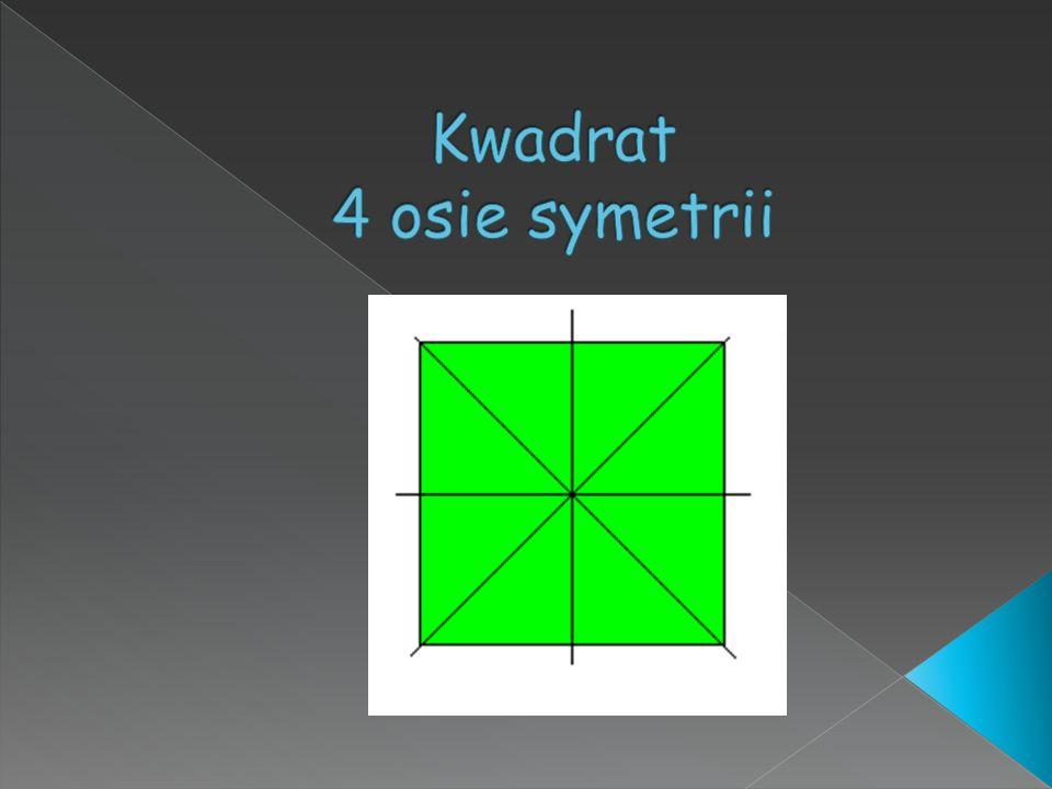 Kwadrat 4 osie symetrii