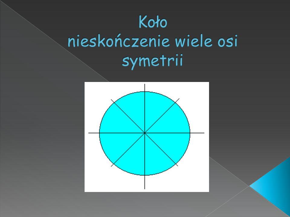 Koło nieskończenie wiele osi symetrii