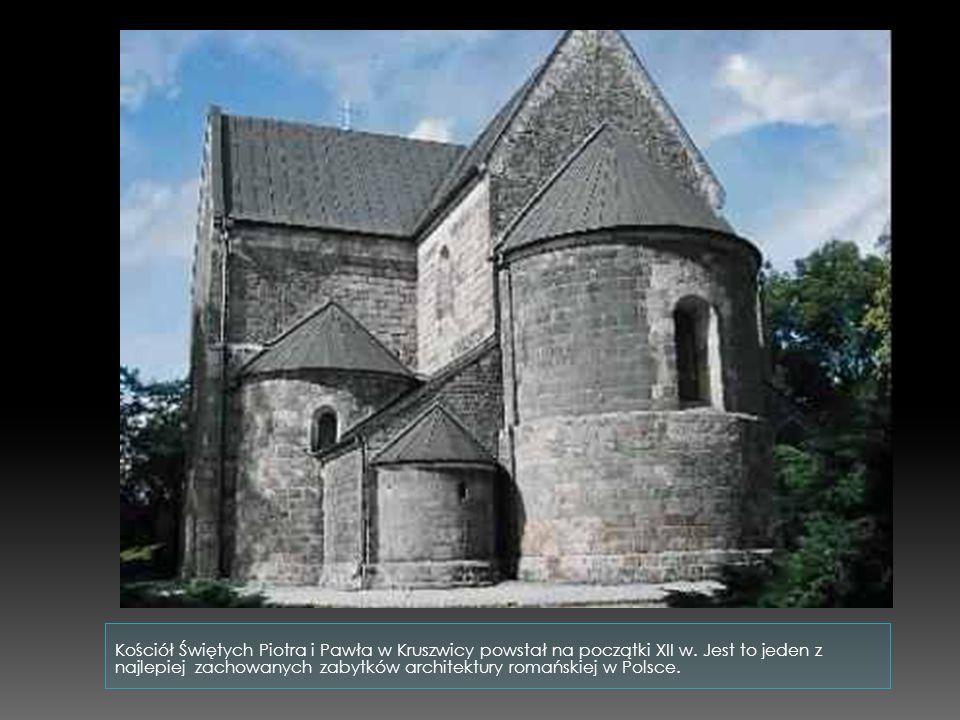 Kościół Świętych Piotra i Pawła w Kruszwicy powstał na początki XII w