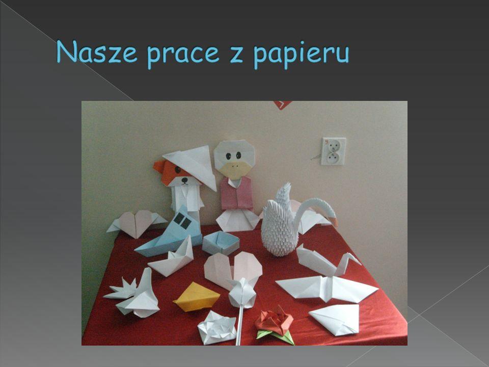 Nasze prace z papieru