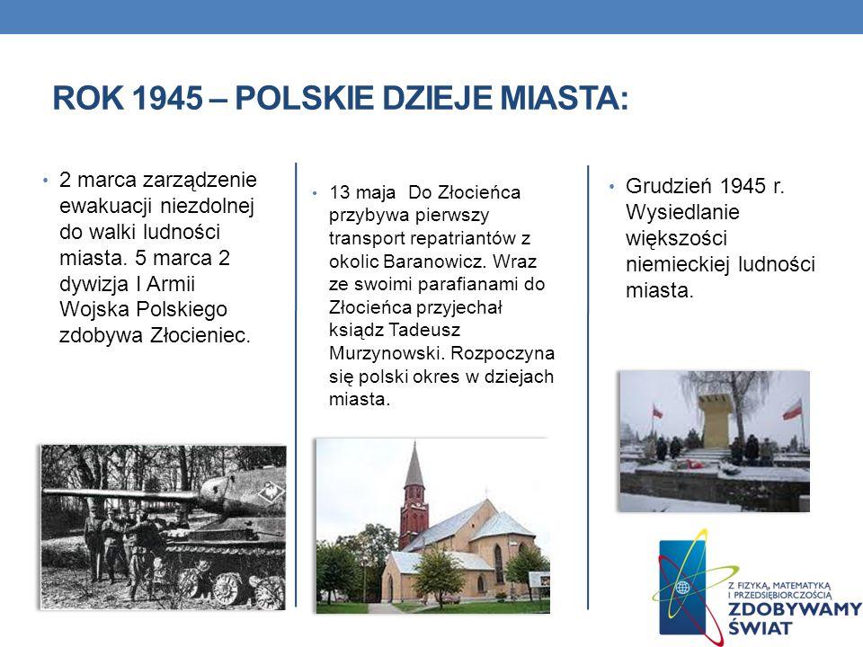 Rok 1945 – Polskie dzieje miasta: