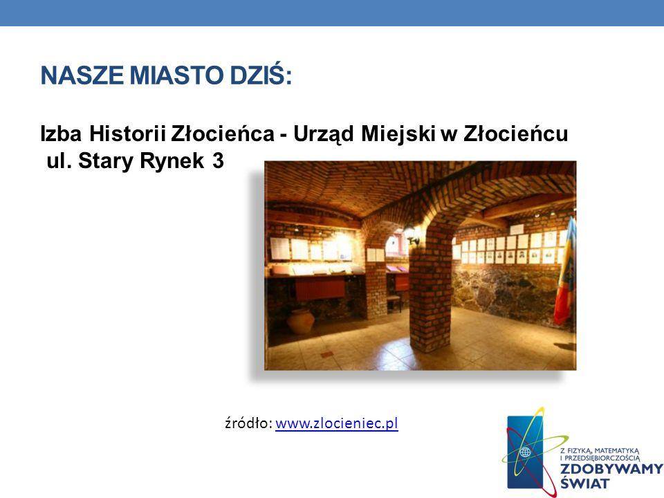 Nasze miasto dziś: Izba Historii Złocieńca - Urząd Miejski w Złocieńcu ul.