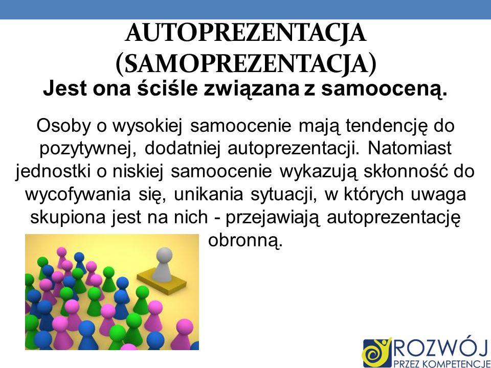 AUTOPREZENTACJA (samoprezentacja)