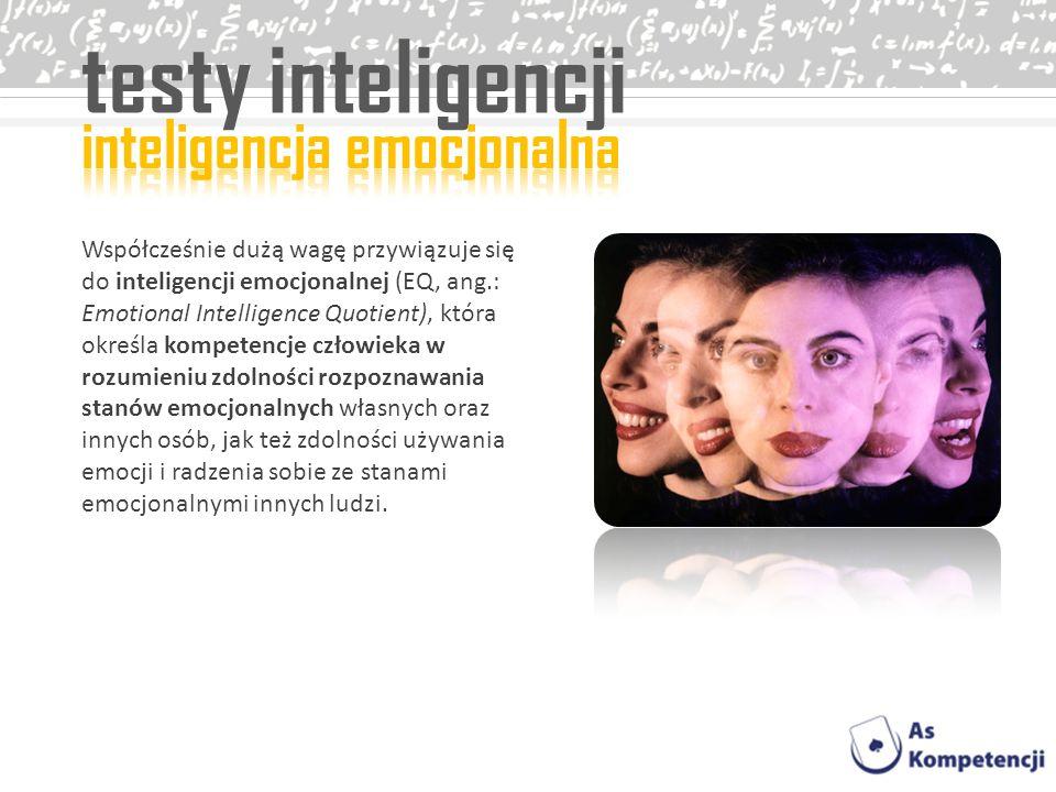 testy inteligencji inteligencja emocjonalna