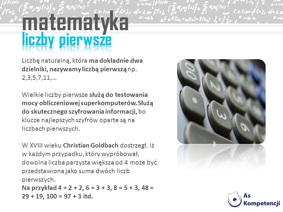 matematyka liczby pierwsze
