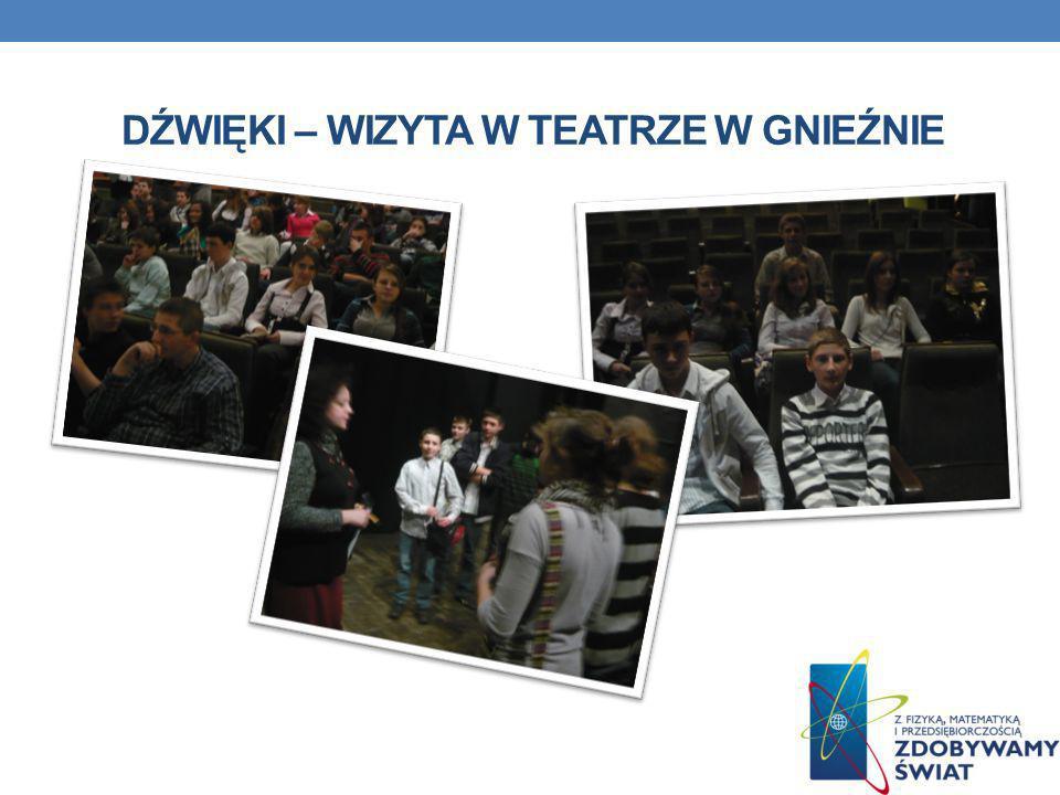 Dźwięki – wizyta w teatrze w Gnieźnie