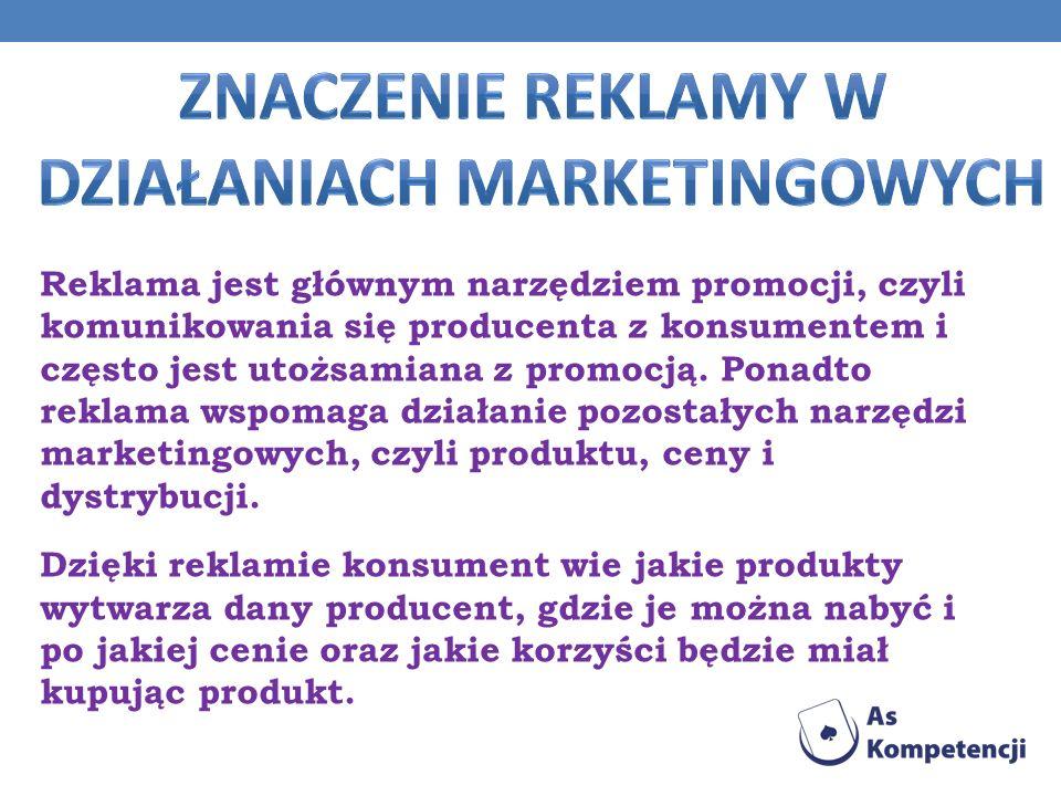 działaniach marketingowych