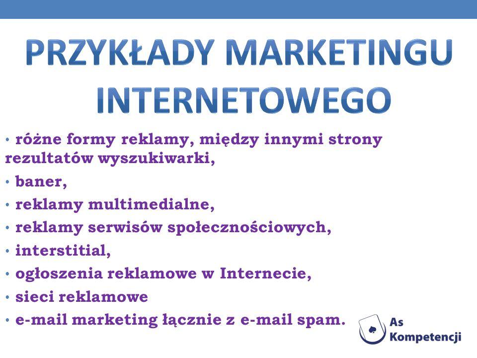 Przykłady marketingu internetowego