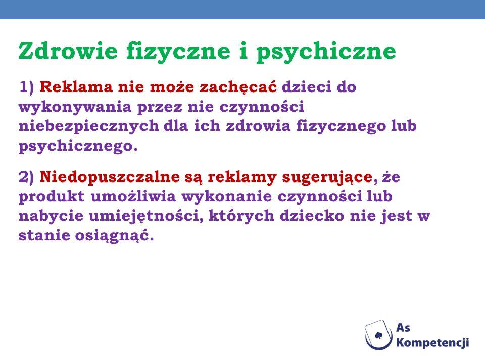 Zdrowie fizyczne i psychiczne