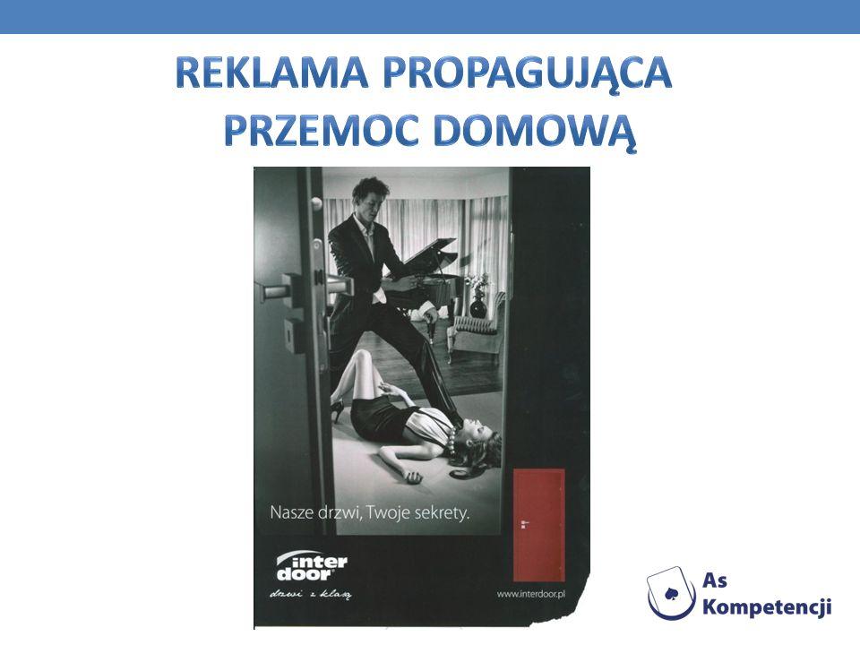 Reklama propagująca przemoc domową