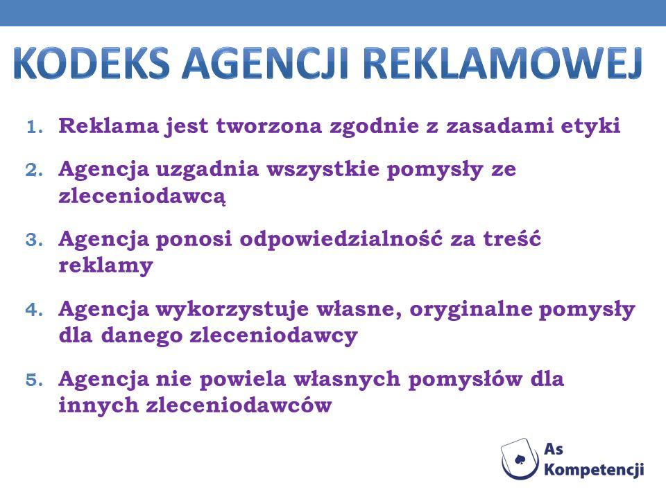Kodeks agencji reklamowej