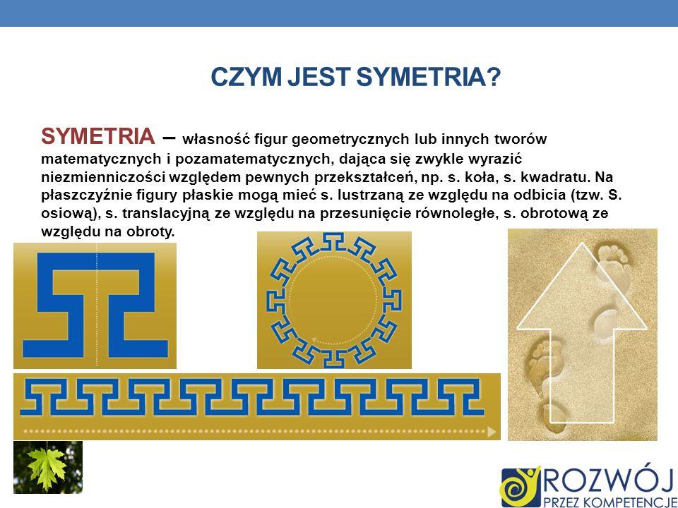 Czym jest symetria