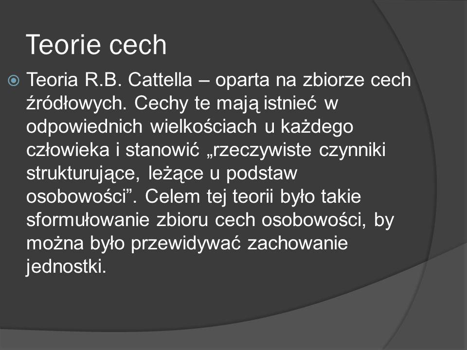 Teorie cech