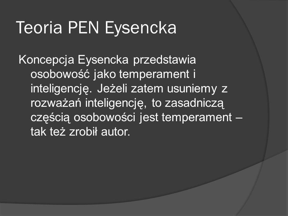 Teoria PEN Eysencka