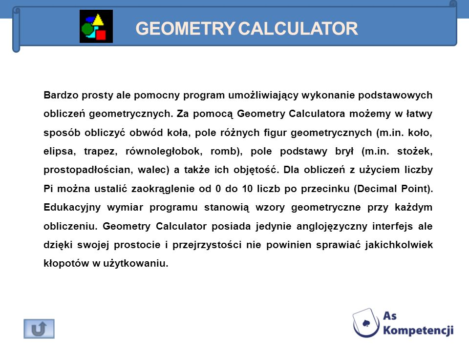 Geometry Calculator