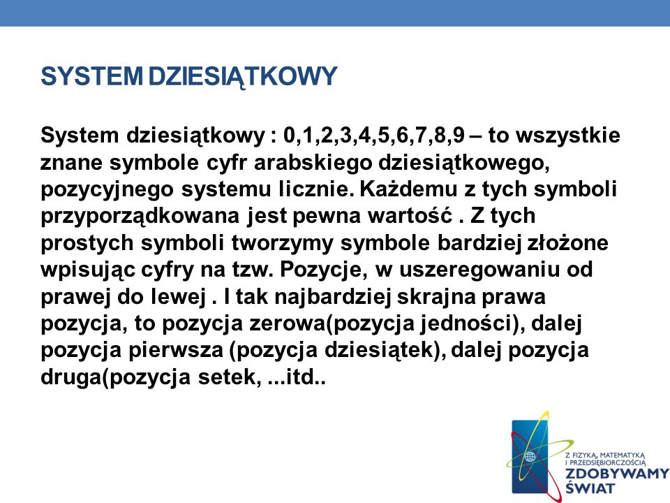 System dziesiątkowy