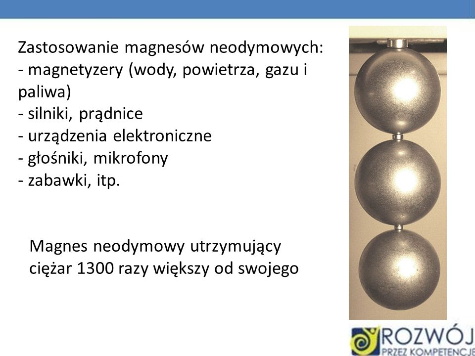 Zastosowanie magnesów neodymowych:
