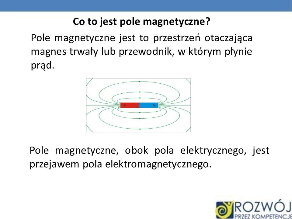 Co to jest pole magnetyczne