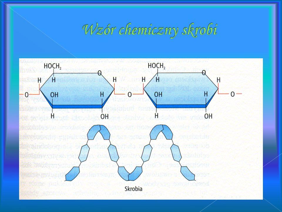 Wzór chemiczny skrobi