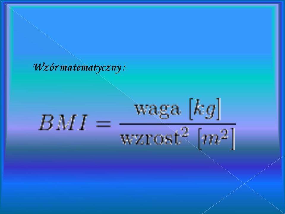Wzór matematyczny :