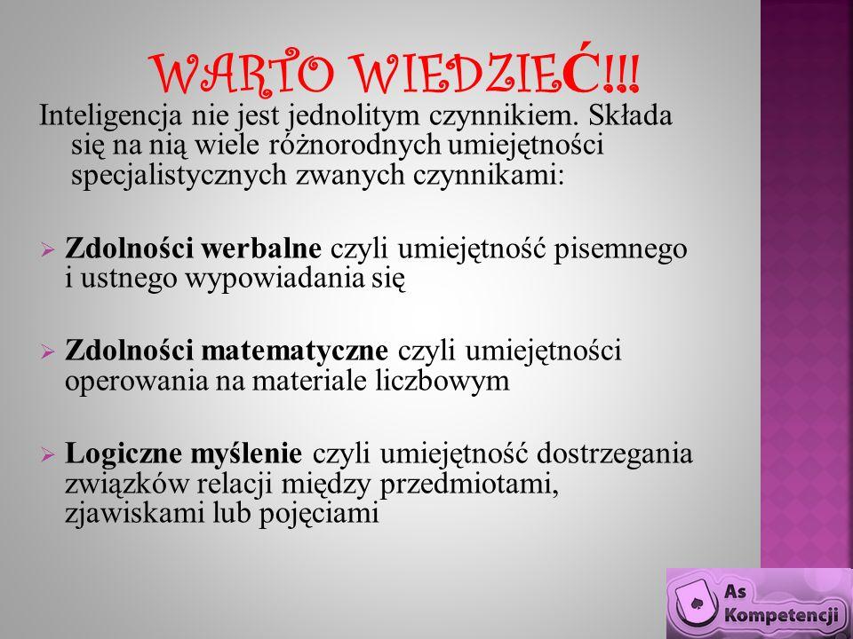WARTO WIEDZIEĆ!!!