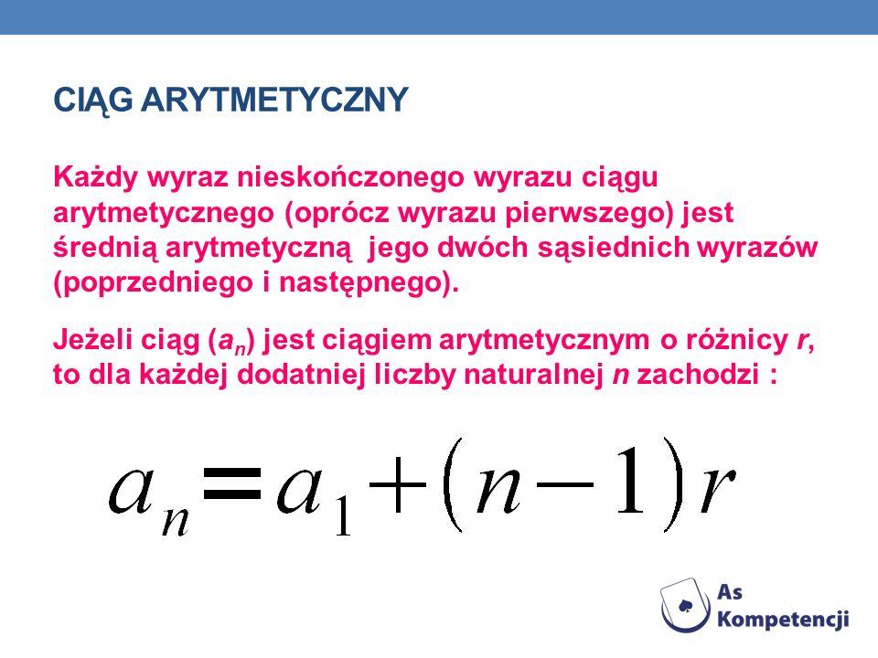Ciąg arytmetyczny