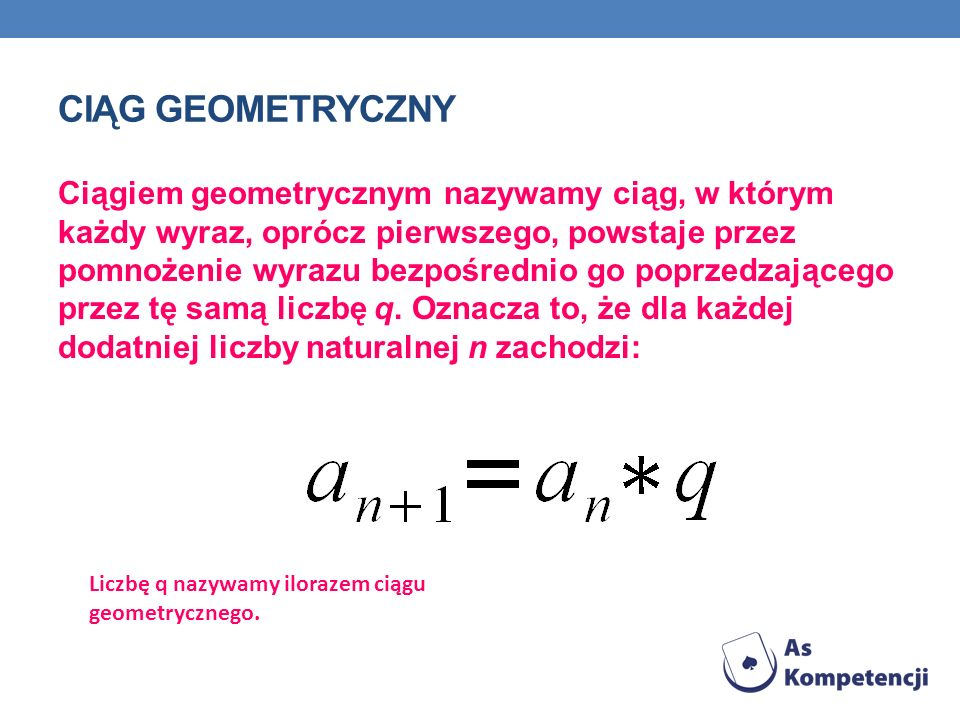 Ciąg Geometryczny