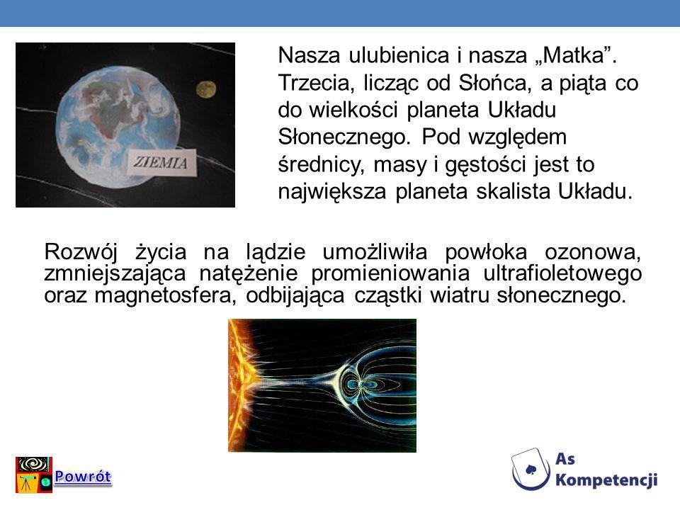 "Nasza ulubienica i nasza ""Matka ."