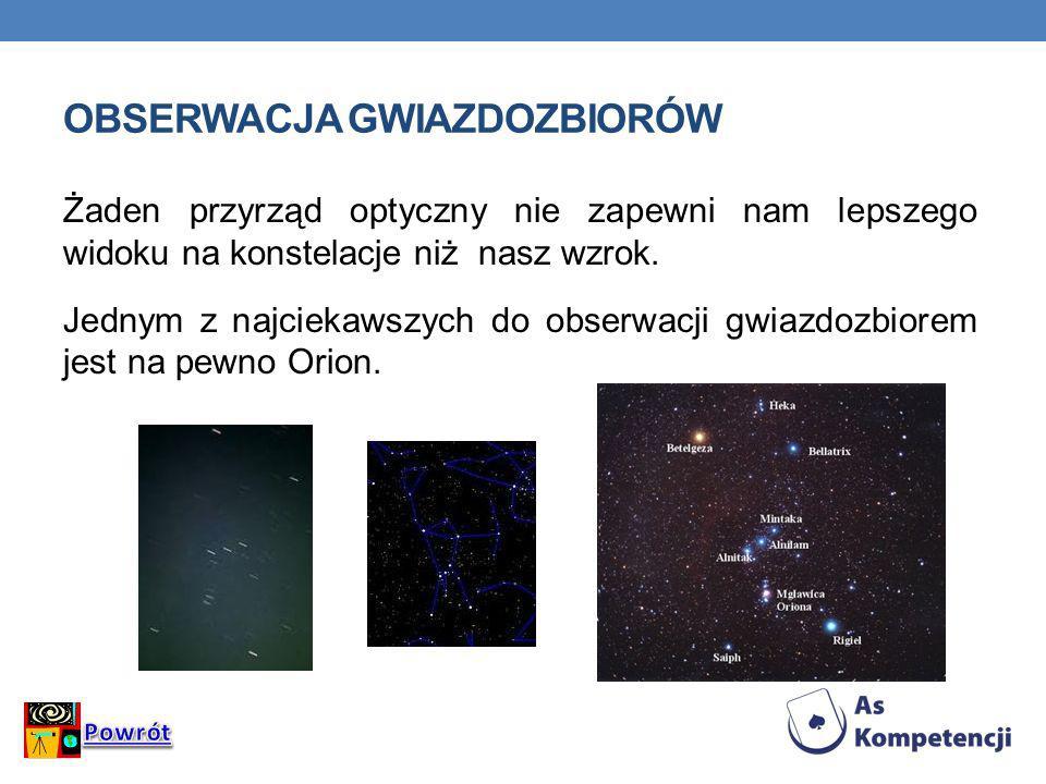Obserwacja gwiazdozbiorów