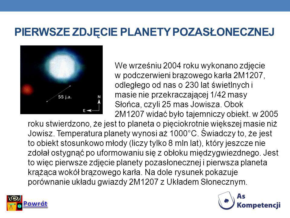 Pierwsze zdjęcie planety pozasłonecznej