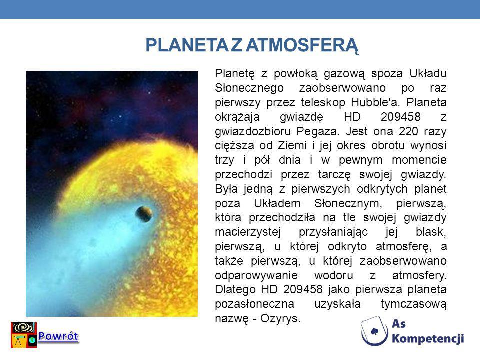 Planeta z atmosferą