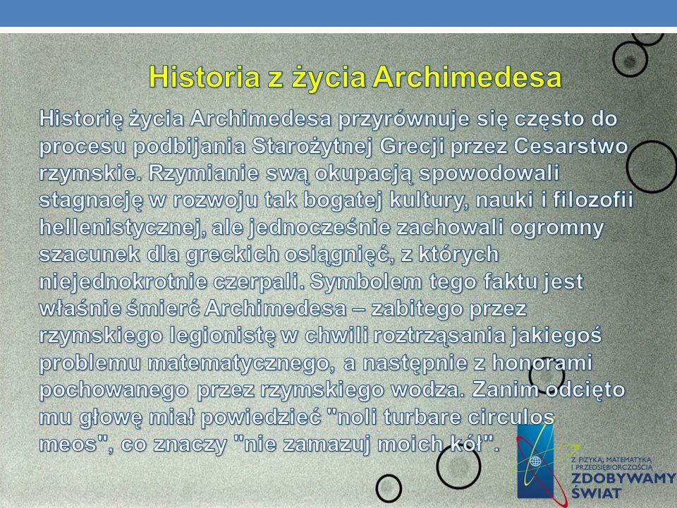 Historia z życia Archimedesa