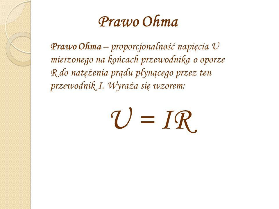 Prawo Ohma.
