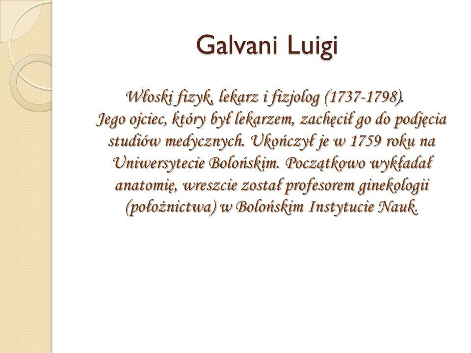 Galvani Luigi