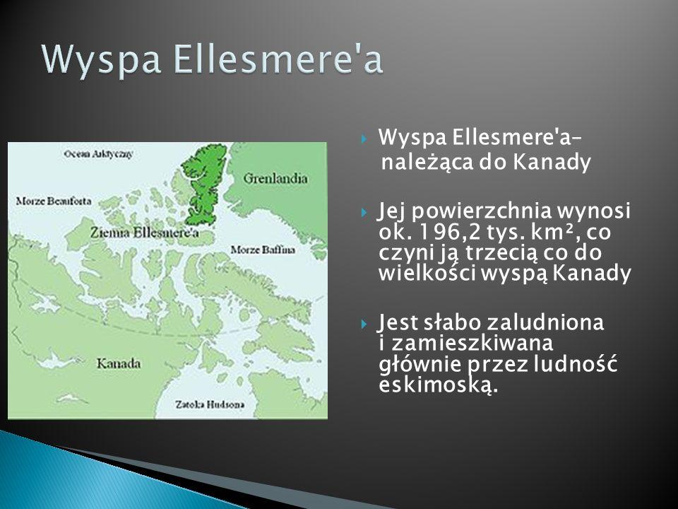 Wyspa Ellesmere a Wyspa Ellesmere a– należąca do Kanady