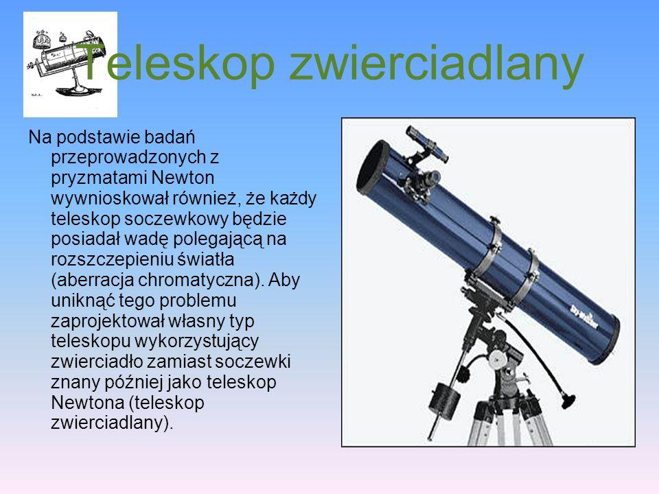 Teleskop zwierciadlany