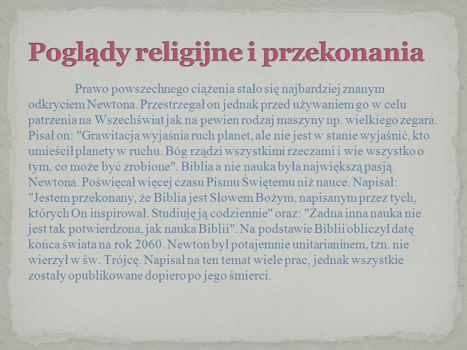 Poglądy religijne i przekonania
