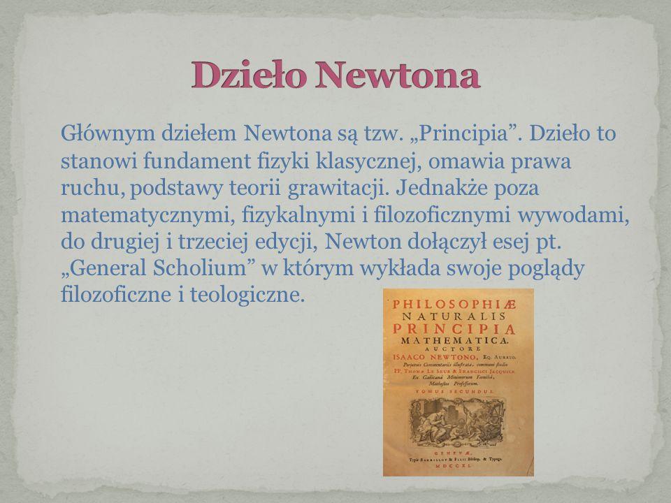 Dzieło Newtona