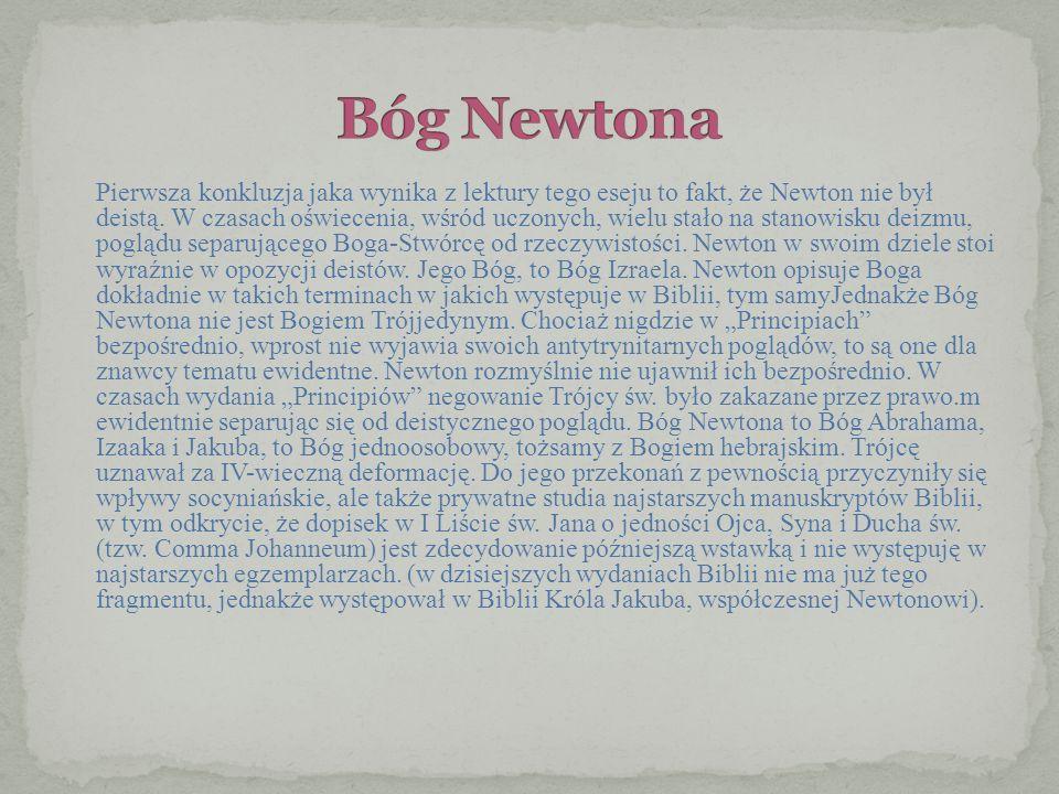 Bóg Newtona